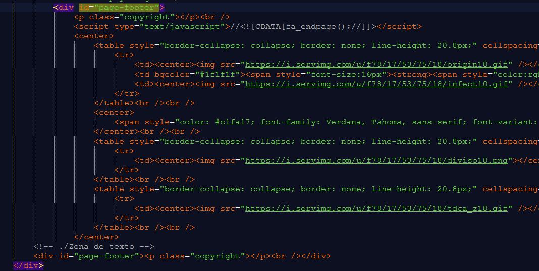 Cores do site adaptáveis Div10