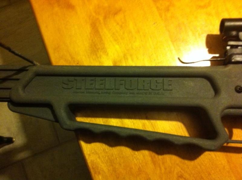 VENDU - arbalète Steelforce horton   14256510