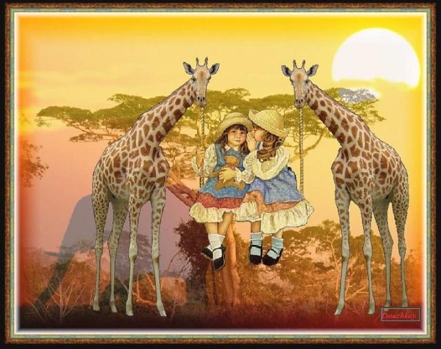 images et textes Girafe10