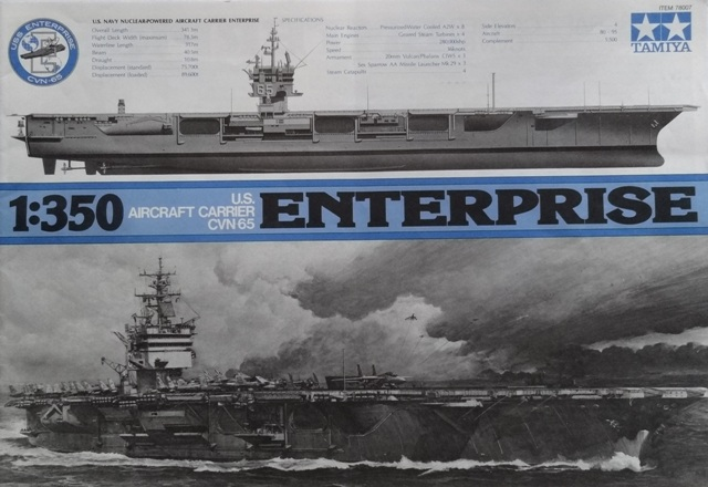 USS Enterprise (CVN65) von Tamiya 1:350  Dsc05112