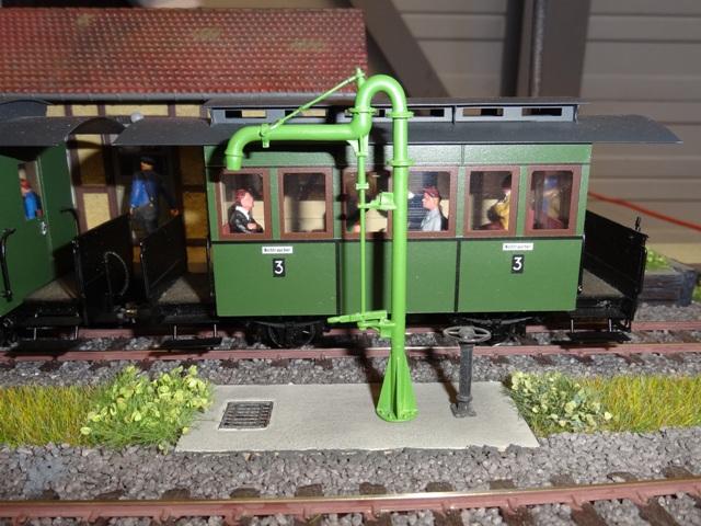 Bahnhofs-Diorama Radeburg 1:160 Dsc05720