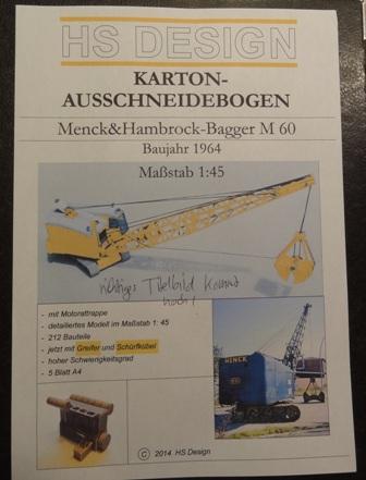Menck Bagger mit Schürfkübel, HS-Design, 1:45 Dsc05964