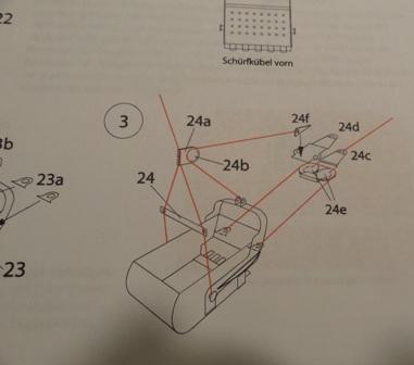 Menck Bagger mit Schürfkübel, HS-Design, 1:45 Dsc05965