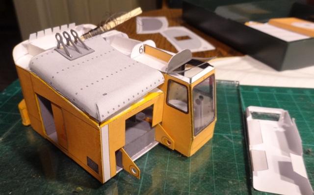 Menck Bagger mit Schürfkübel, HS-Design, 1:45 Dsc06065