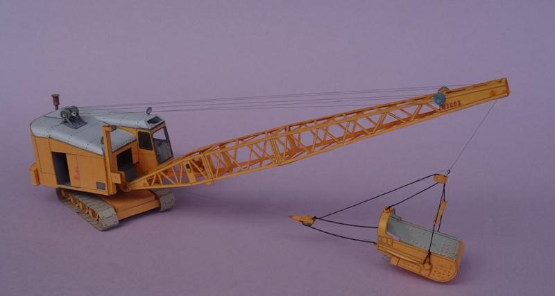 Menck Bagger mit Schürfkübel, HS-Design, 1:45 Dsc06076