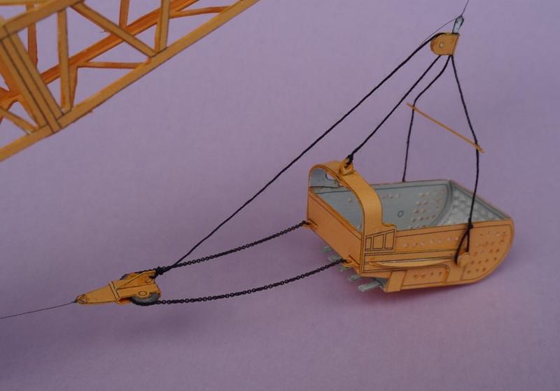 Menck Bagger mit Schürfkübel, HS-Design, 1:45 Dsc06110