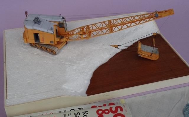Diorama mit Menck Bagger, M 1:45 Dsc06113