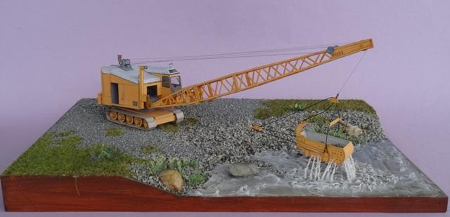 Diorama mit Menck Bagger, M 1:45 Dsc06120