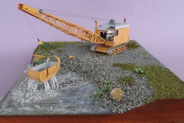 Diorama mit Menck Bagger, M 1:45 Dsc06123