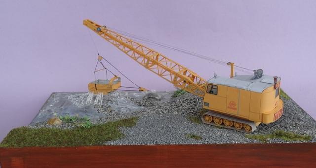 Diorama mit Menck Bagger, M 1:45 Dsc06124