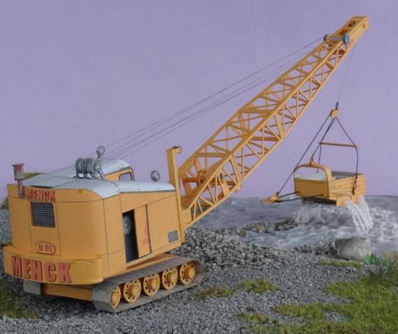 Diorama mit Menck Bagger, M 1:45 Dsc06126