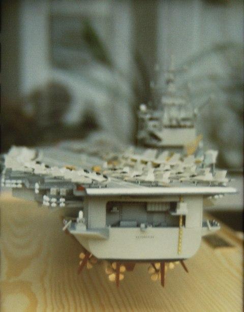USS Enterprise (CVN65) von Tamiya 1:350  Pict0016