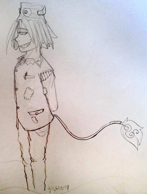 Tomato il sait dessiner ! Akuma210
