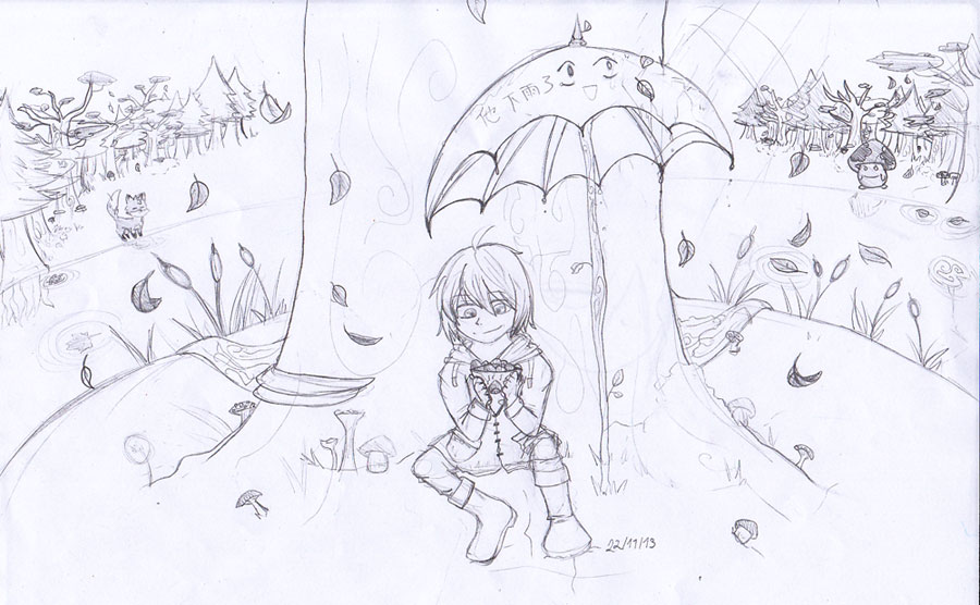 Tomato il sait dessiner ! Autumn10