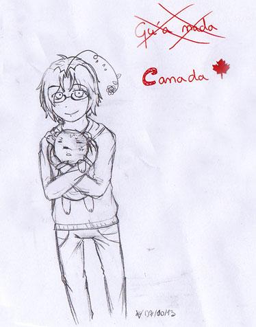 Tomato il sait dessiner ! Canada10