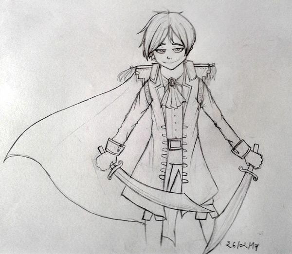 Tomato il sait dessiner ! Pirate10