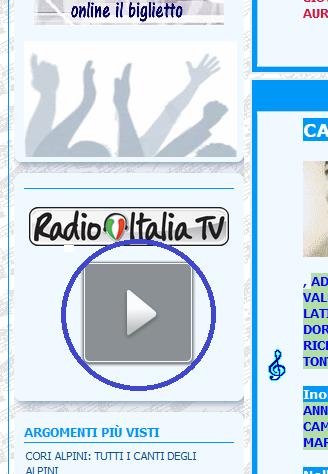 [Risolto]  Radio Italia forse ha cambiato il link per lo streming video Video_10