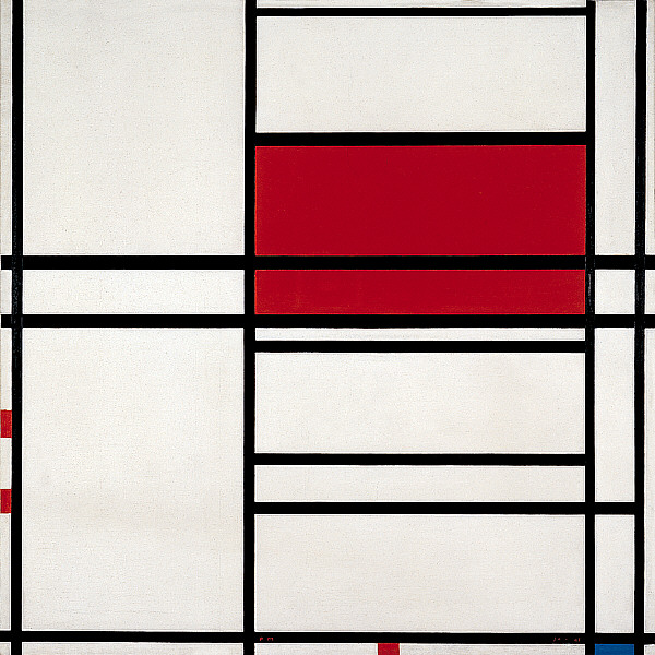 La question de l'approche biographique des oeuvres, de l'art et des artistes. Mondri11