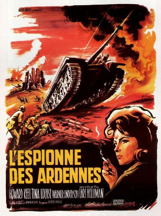 L'Espionne des Ardennes. Armored Command. 1961. Byron Haskin. 4107210