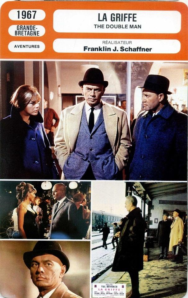 La Griffe. The Double Man. 1967. Franklin J. Schaffner. _5710