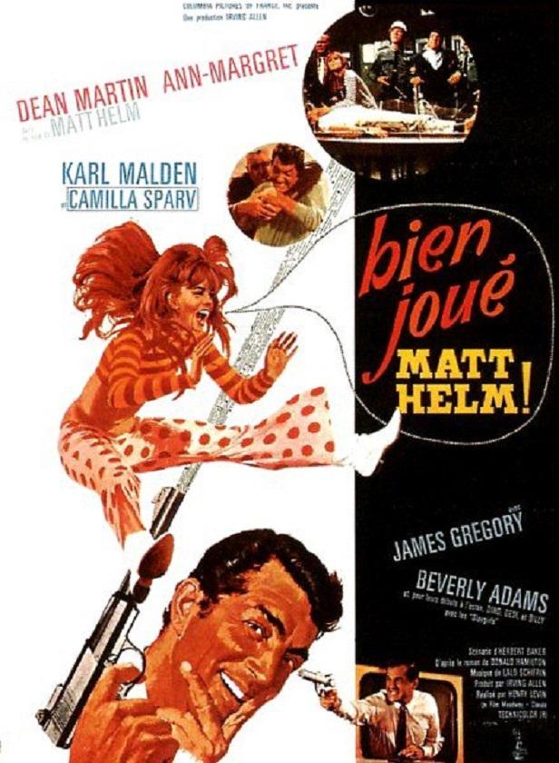Bien joué, Matt Helm! Murderers' Row. 1966.  Henry Levin. Affich12