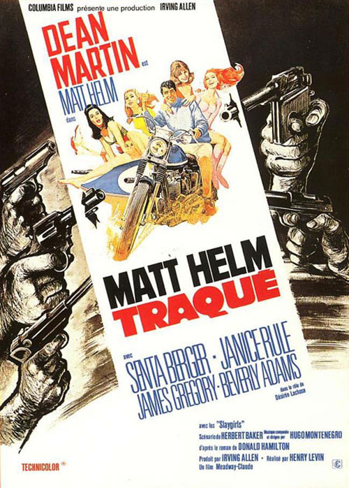 Matt Helm traqué.  The Ambushers. 1967. Henry Levin. Affich13