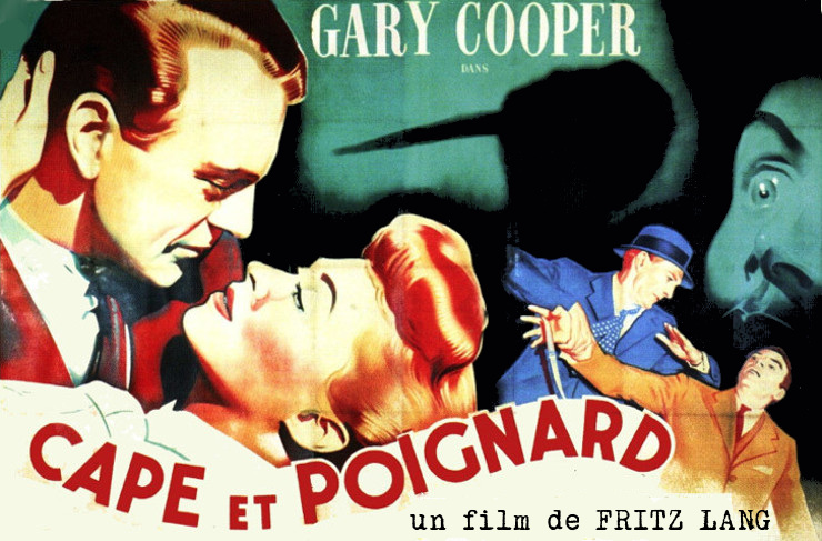 Cape et poignard. Cloak and Dagger. 1946. Fritz Lang. Critiq10