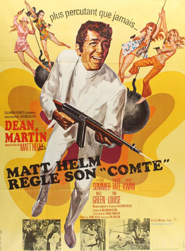 "helm - Matt Helm règle son ""comte"". The Wrecking Crew. 1968.  Phil Karlson. En136210"