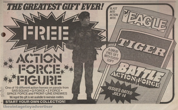 Action Force: First Series  Action10
