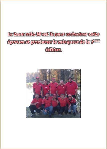 Le Team MILO 30 organise leur 7ème critérium du Gard 17098410