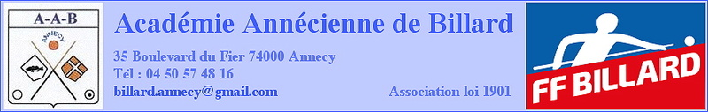 Académie Annécienne de Billard
