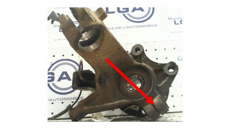 demontage remontage rotule de direction pour changement d'embrayage Diapos10