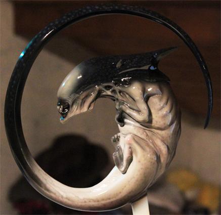 Alien Queen Foetus 1:1 Gauche10