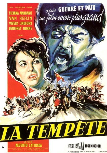 La tempête- La tempesta - 1958- Alberto Lattuada Affich21