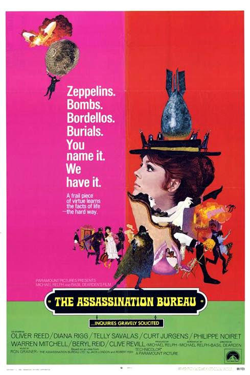 Assassinats en tous genres- The Assassination Bureau- 1969- Basil Dearden Assass10