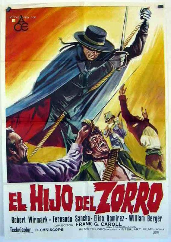 Le fils de Zorro- Il figlio di Zorro - 1973- Gianfranco Baldanello Le-fil10