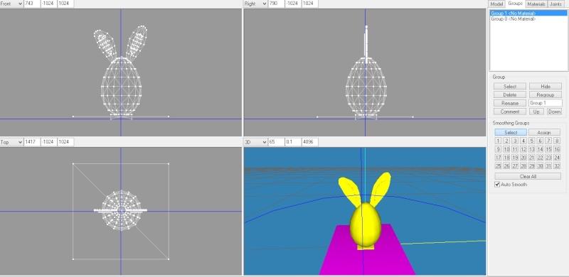 [3D] Atelier thématique Pâques (MS3D & Blender) - Page 17 135