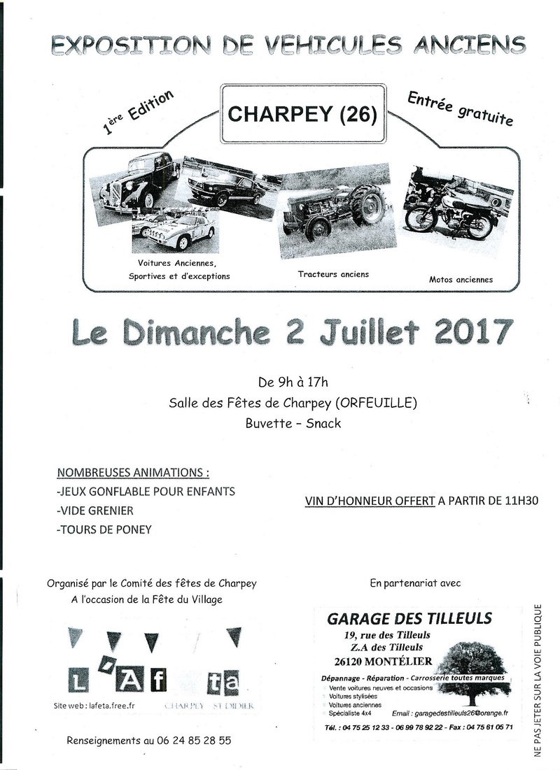 [26][02/07/17]CHARPEY  - exposition véhicules Charpe12