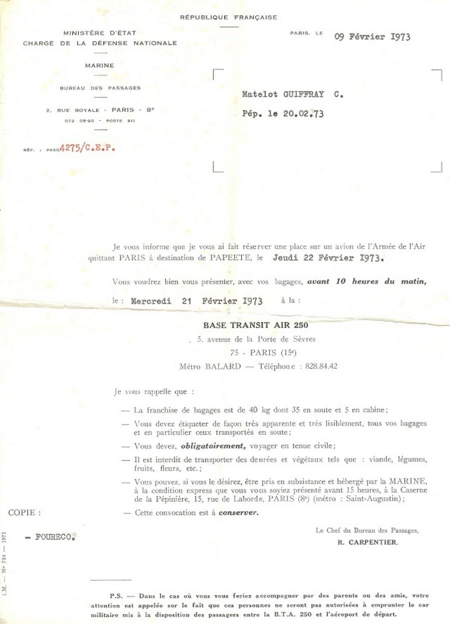 [Aéronavale divers] DC8 COTAM - Page 7 127