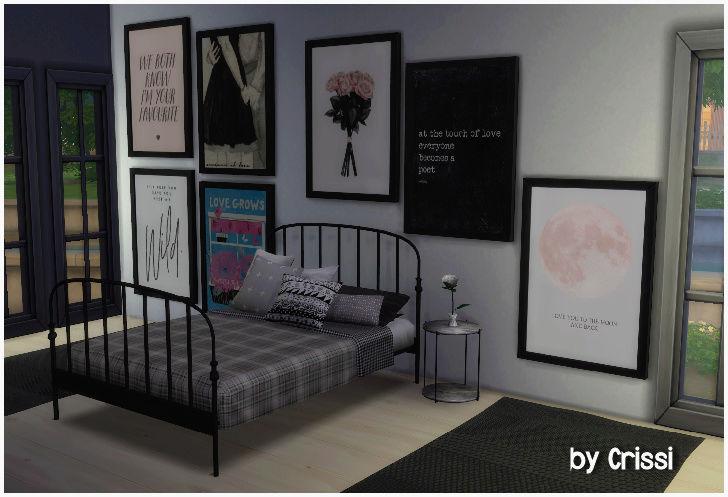 TS4 - 7 EA Maxis Painting Recolors *Romance* Romanc11