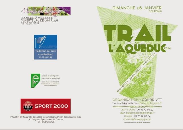 Trail de l'Aqueduc, Cours, 26/01/2014 Flyer_10