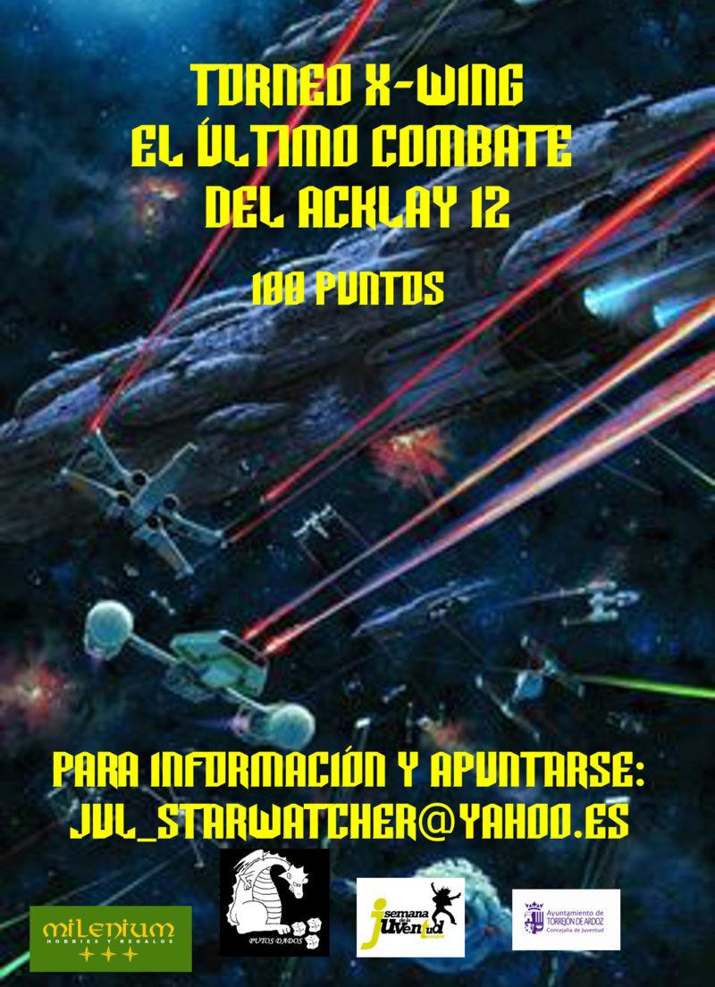Torneo último combate del Aklay-12 Torneo en Torrejón de Ardoz 23 de abril Cartel10
