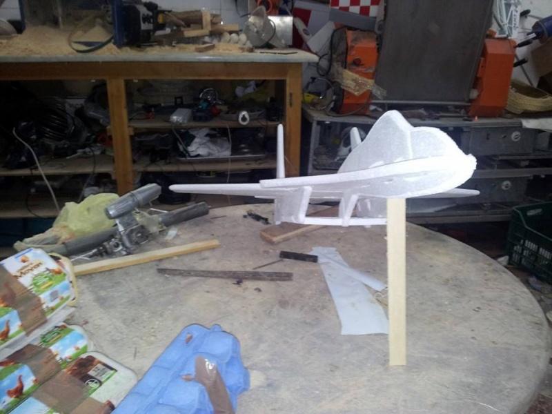 SU 27 Flankker polystyrène  16535610