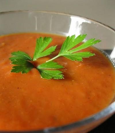Potage à la tomate exotique.... Potage10