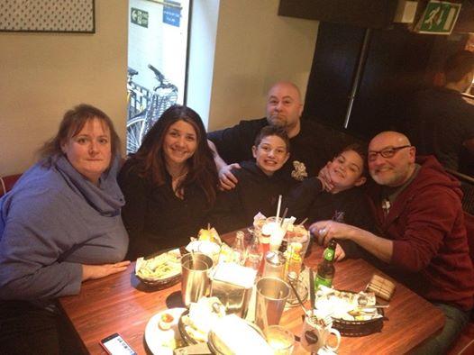 Mr & Mrs Stone in London. Diner11
