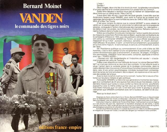 Vanden, le commando des tigres noirs, 1987 Vanden10