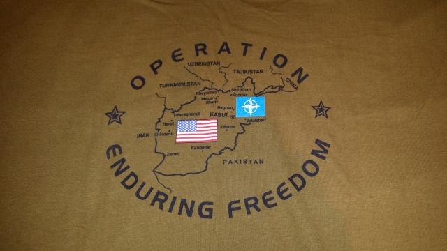 Souvenirs de l'opération Enduring Freedom 20140248