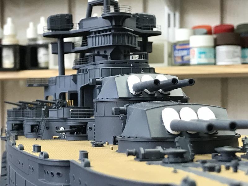 USS ARIZONA 1/200 TRUMPETER - Page 3 Img_3811