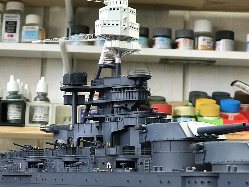 USS ARIZONA 1/200 TRUMPETER - Page 3 Img_3812
