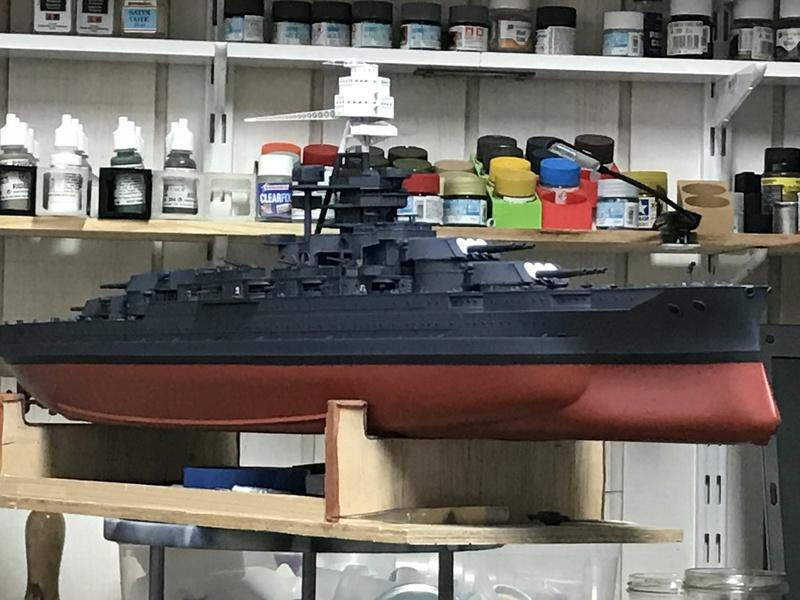 USS ARIZONA 1/200 TRUMPETER - Page 3 Img_3813
